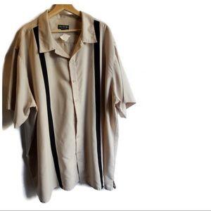 David Taylor Casual Button Down Shirt 3XL